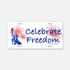 Freedom Liberty Aluminum License Plate