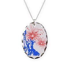 Fireworks Liberty Necklace