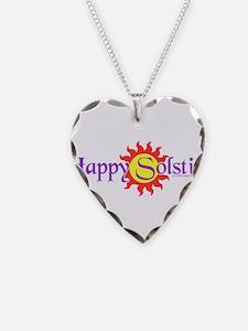 Happy Solstice Necklace