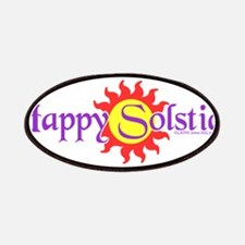 Happy Solstice Patches
