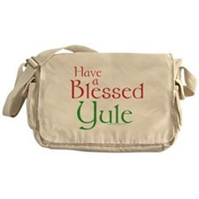 Blessed Yule Messenger Bag