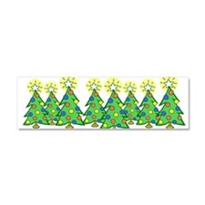 Christmas Forest Car Magnet 10 x 3