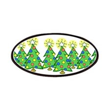 Christmas Forest Patches