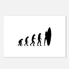 Evolution surfing Postcards (Package of 8)