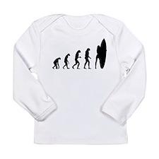 Evolution cowboy Long Sleeve Infant T-Shirt