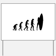 Evolution surfing Yard Sign