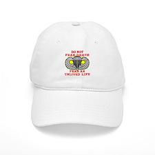 Airborne; Do Not Fear Death Baseball Cap