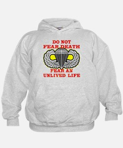 Airborne; Do Not Fear Death Hoodie