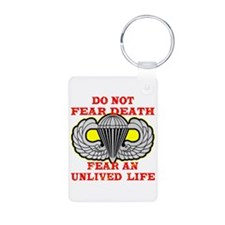 Airborne; Do Not Fear Death Keychains