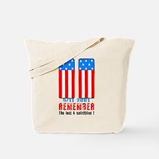 9/11 2001 Tote Bag