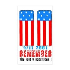 9/11 2001 Decal