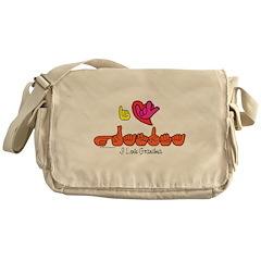 I-L-Y Grandma Messenger Bag