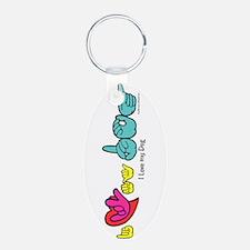 I-L-Y My Dog Keychains