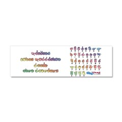 Pastel PREVENT NOISE POLLUTIO Car Magnet 10 x 3