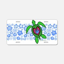 ILY Hawaii Turtle Aluminum License Plate