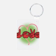 LoveWithHeart Keychains