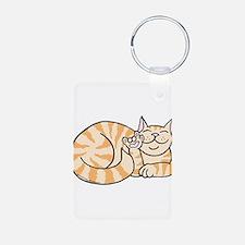 OrangeTabby ASL Kitty Keychains