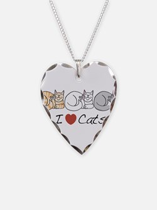 I Heart Cats Necklace