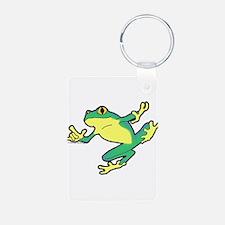 ASL Frog in Flight Keychains