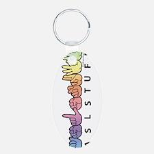 ASLstuff Logo Keychains
