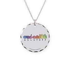 ASLstuff Logo Necklace