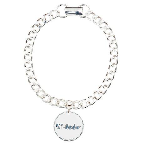 CI-Borg Charm Bracelet, One Charm