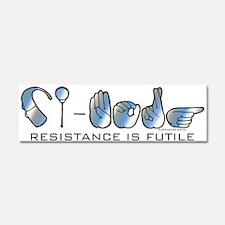 CI-Borg Resistance Car Magnet 10 x 3
