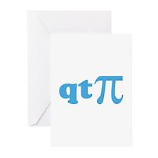 qtPi Greeting Cards (Pk of 20)