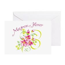 Matron of Honor Greeting Card