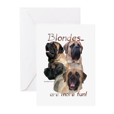 Mastiff 79 Greeting Cards (Pk of 10)