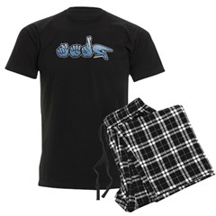 Terp Blue Pajamas