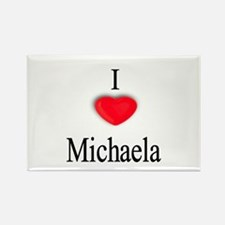 Michaela Rectangle Magnet