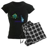 I'm a Moderate Women's Dark Pajamas