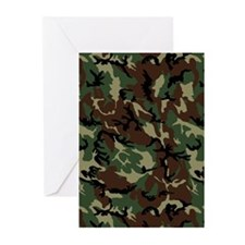 Camouflage Pattern Greeting Cards (Pk of 20)