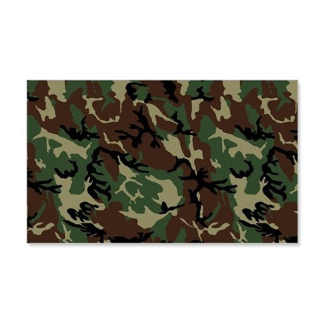 Camouflage pattern 22x14 wall peel by trendyteeshirts for Camo mural wall