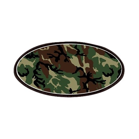 Camouflage Pattern Patches