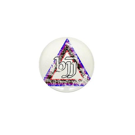 Brazilian Jiu Jitsu Triangle Mini Button (100 pack