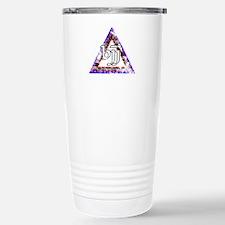 Brazilian Jiu Jitsu Triangle Travel Mug
