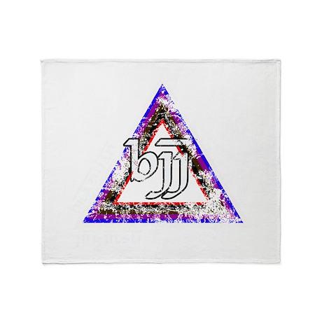 Brazilian Jiu Jitsu Triangle Throw Blanket