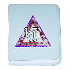 Brazilian Jiu Jitsu Triangle baby blanket