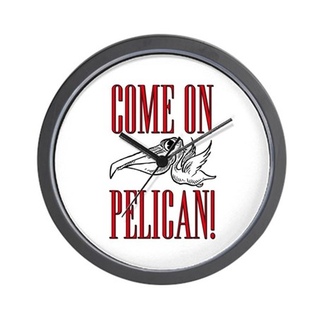 Come On, Pelican! Scarface Wall Clock