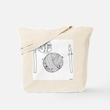 Yarn Ain't Big Enough Tote Bag