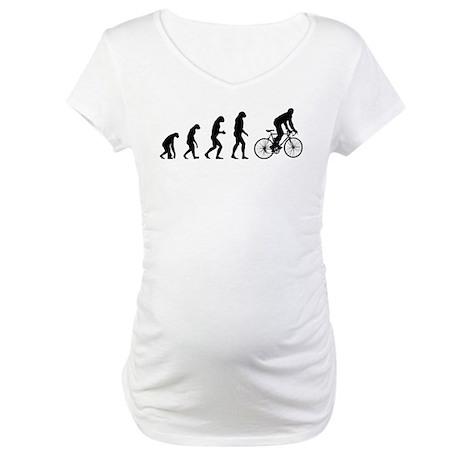 Evolution cycling Maternity T-Shirt