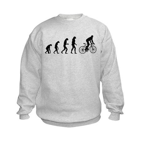 Evolution cycling Kids Sweatshirt