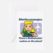 Attention Passengers SoaP Greeting Cards (Package