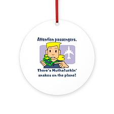 Attention Passengers SoaP Ornament (Round)