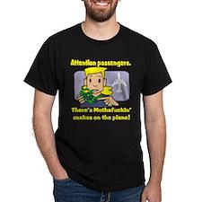 Attention Passengers SoaP Black T-Shirt
