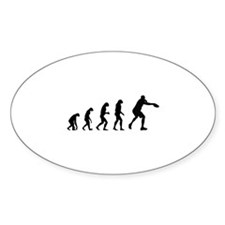 Evolution frisbee Decal