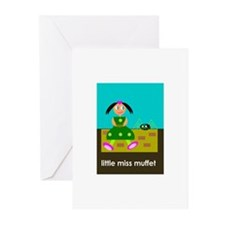 Little Miss Muffet Greeting Cards (Pk of 10)