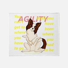 Agility Directions Throw Blanket
